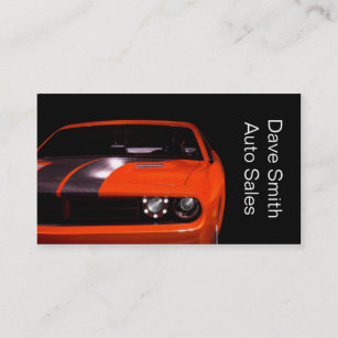 Used car dealer business cards zazzle au used car dealer business card reheart Image collections