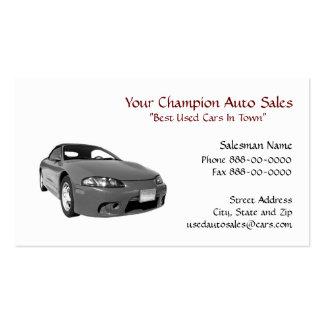 Used Car Dealer Business Card