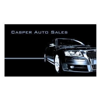 Used Car Dealer Pack Of Standard Business Cards