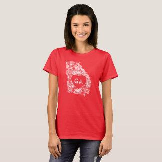 Used I Love Georgia State Women's Basic T-Shirt