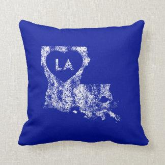 Used I Love Louisiana State Pillow