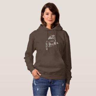 Used I Love Maine State Women's Hoodies
