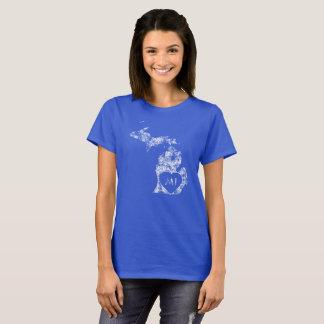 Used I Love Michigan State Women's Basic T-Shirt