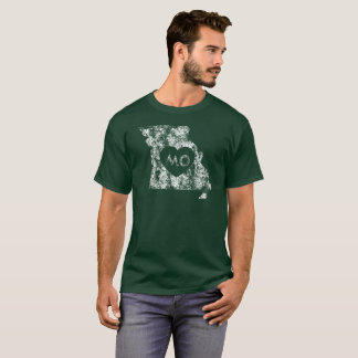 Used I Love Missouri State Men's Dark T-Shirt