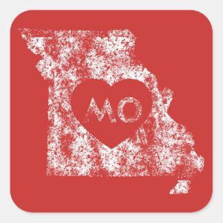 Used I Love Missouri State Stickers