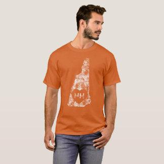 Used I Love New Hampshire Men's Basic Dark T-Shirt