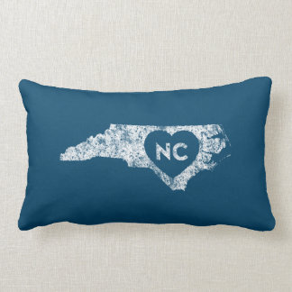 Used I Love North Carolina State Lumbar Pillow