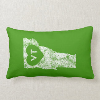 Used I Love Vermont State Lumbar Pillow