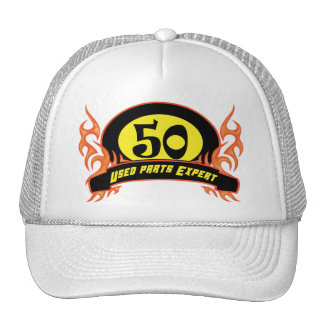 Used Parts 50th Birthday Gifts Cap