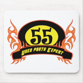 Used Parts 55th Birthday Gifts Mouse Pad