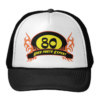 Used Parts 80th Birthday Gifts Cap