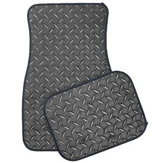 Used Steel Diamond Plate Floor Mat