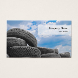 Used Tires Business Card