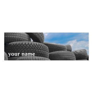 Used Tires Skinny Business Card