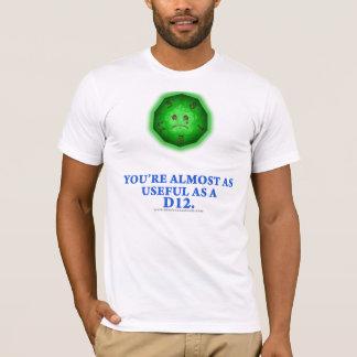 Useful As a D12 T-Shirt