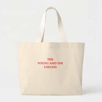 USELESS LARGE TOTE BAG