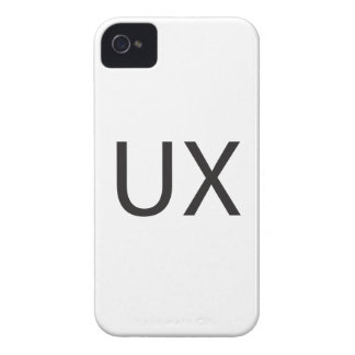 User eXperience ai iPhone 4 Cases