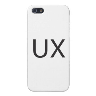 User eXperience ai iPhone 5 Cover