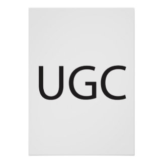 User-Generated Content Poster