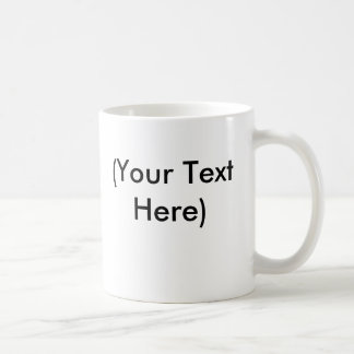 User Template Coffee Mugs