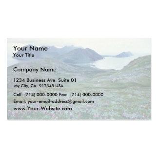 Ushagat Island in the Barren Islands Business Card Templates