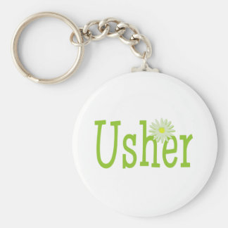 Usher/ Daisy theme Key Ring