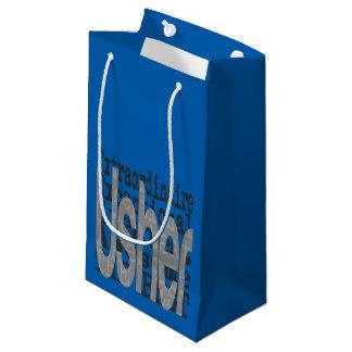 Usher Extraordinaire Small Gift Bag