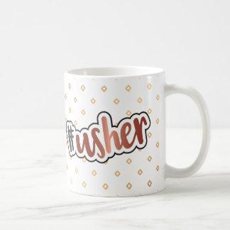 Usher Mug With Bronze Chrome Effect