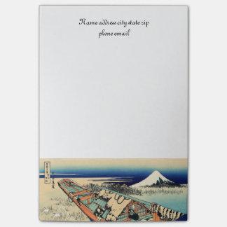 Ushibori in the Hitachi Provence Post-it Notes