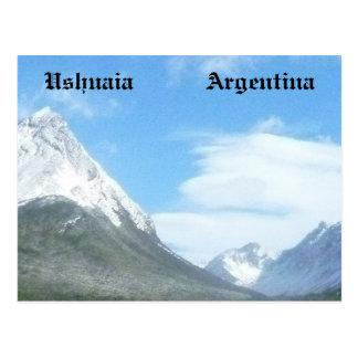 Ushuaia countryside (BASIC design) Postcard