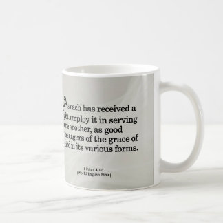 Using Gifts from God 1 Peter 4:10 Coffee Mug