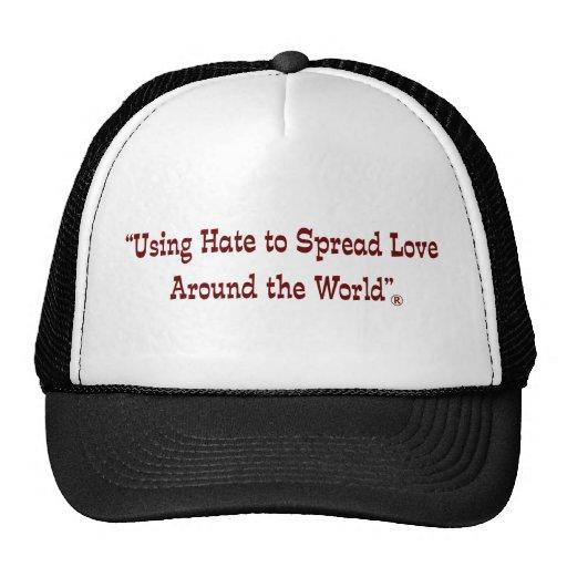 Using Hate Garnet Trucker Hat