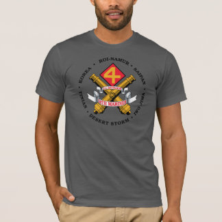 USMC - 2nd Battalion 14th Marines - Marine Corps T-Shirt