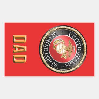 USMC Dad Sticker