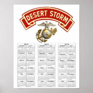 USMC DESERT STORM VETERAN POSTER