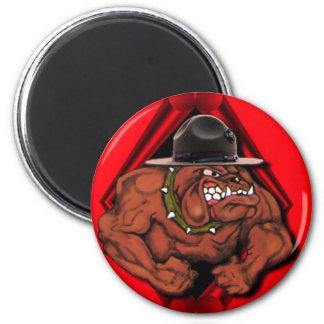 USMC Devil Dog Refrigerator Magnet