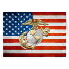 USMC Eagle, Globe & Anchor (EGA) [3D] Card