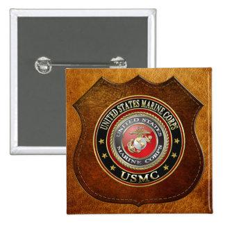 USMC Emblem Special Edition 3D Buttons