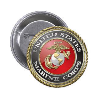 USMC Emblem Uniform 3D Buttons