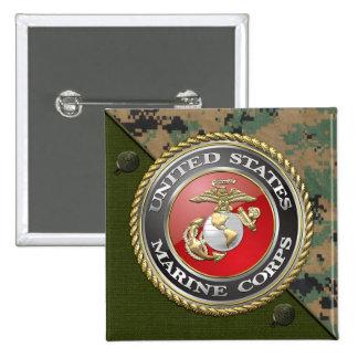 USMC Emblem Uniform 3D Pin