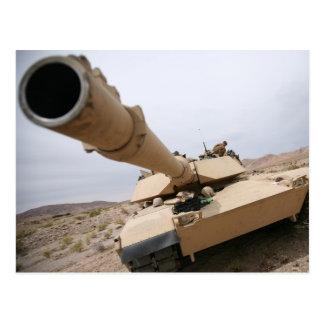 USMC M1 Abrams Postcard