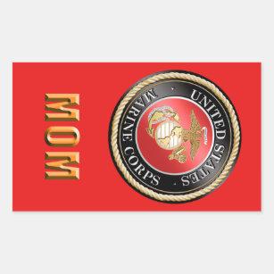 USMC Mum Sticker