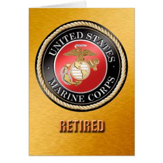 USMC Retired Card