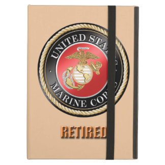 USMC Retired iPad Case