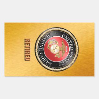 USMC Retired Sticker