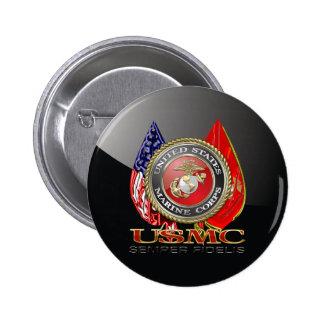 USMC Semper Fi Special Edition 3D Button