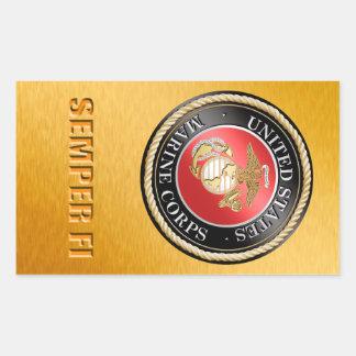 USMC Semper Fi Sticker