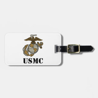 USMC [stencil] Bag Tag