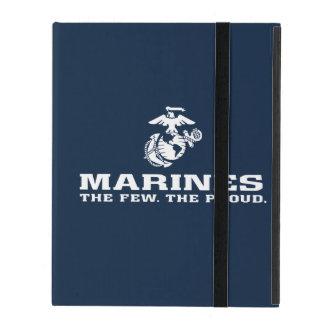 USMC The Few The Proud Logo Stacked - White iPad Case
