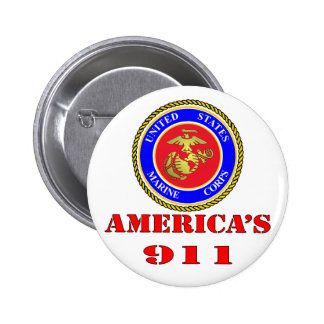 USMC United States Marine Corps America's 911 Buttons